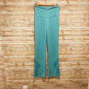 Prana Buttery Soft Turquoise Straight Leggings